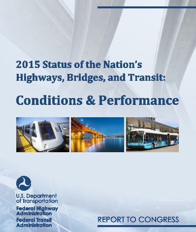 2015 Conditions and Performance report cover