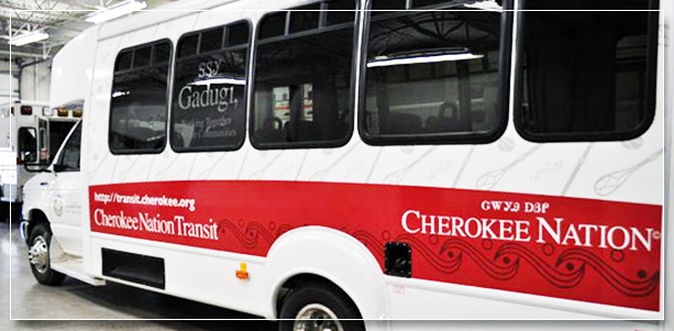 Cherokee Nation bus