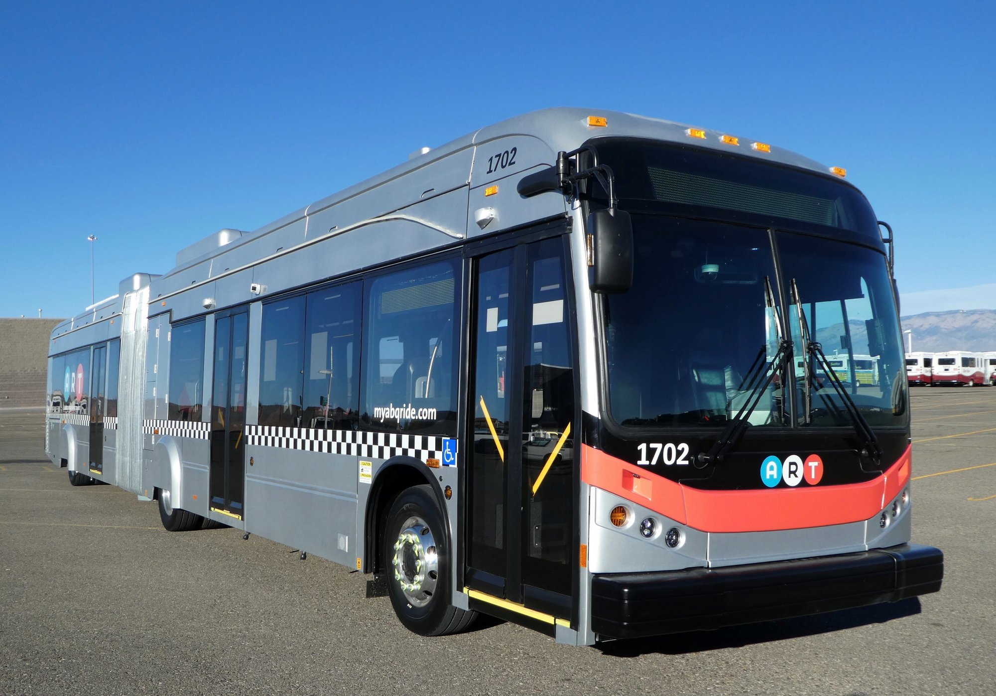 Albuquerque BRT vehicle