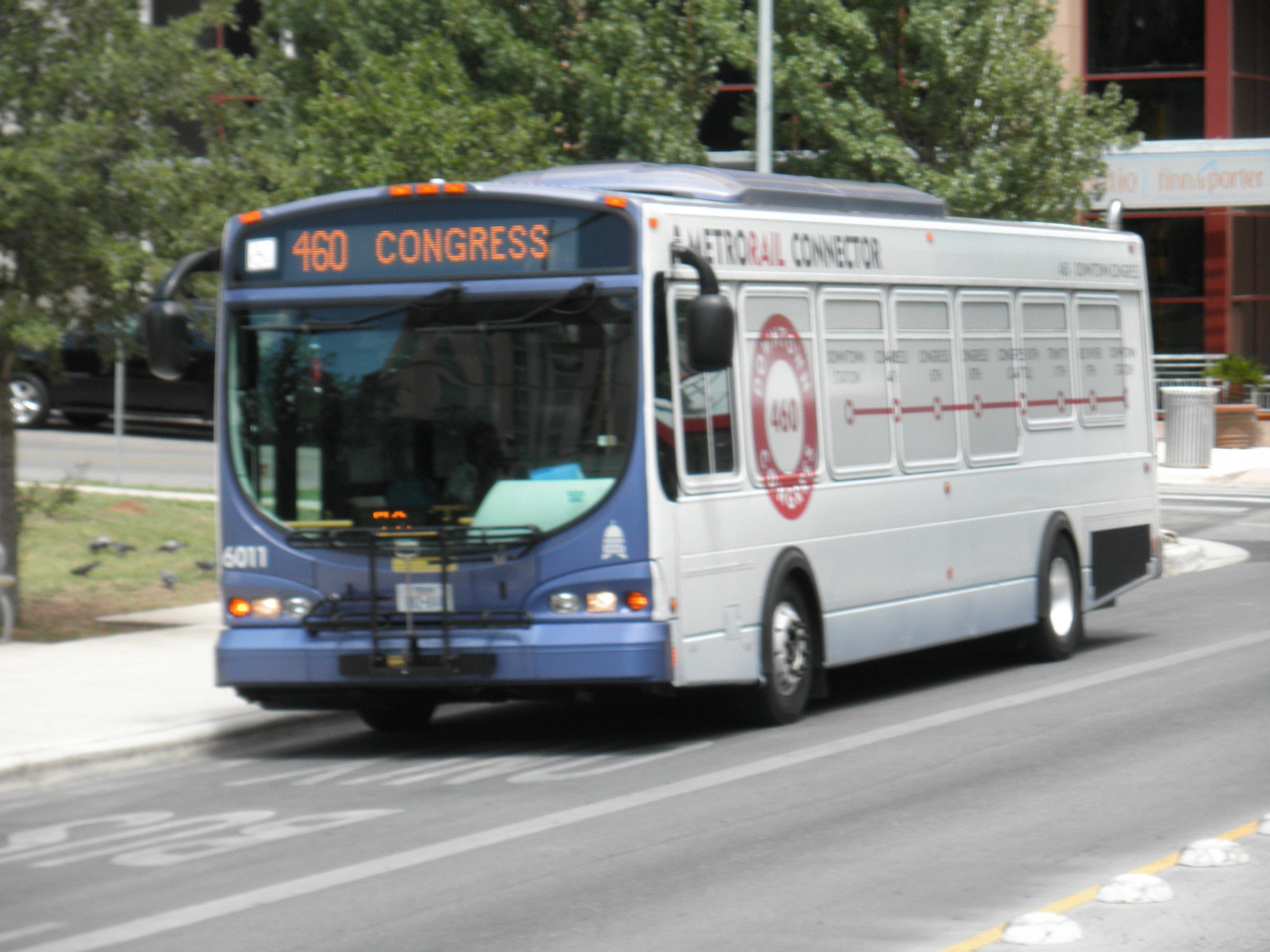 Austin (Texas) Metro bus