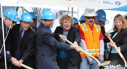FTA Administrator Rogoff Joins San Jose Officials to Break Ground on BART Rail Extension to Silicon Valley