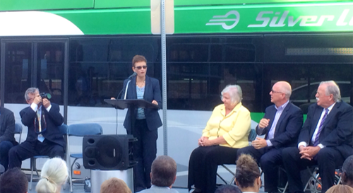 U.S. Department of Transportation Celebrates Opening of Silver Line Bus Rapid Transit System in Grand Rapids, Michigan
