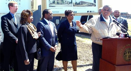 U.S. Transportation Secretary Foxx Calls for Transportation Investment During Visit to Birmingham Intermodal Facility