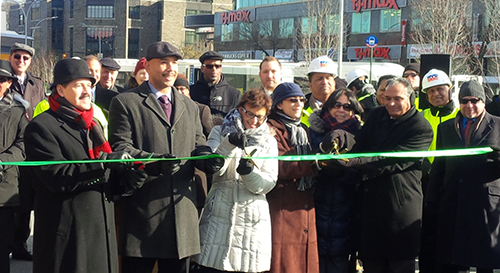 Federal Transit Administration Celebrates Reconstructed Fordham Plaza, Improving Access to Public Transportation Connections in