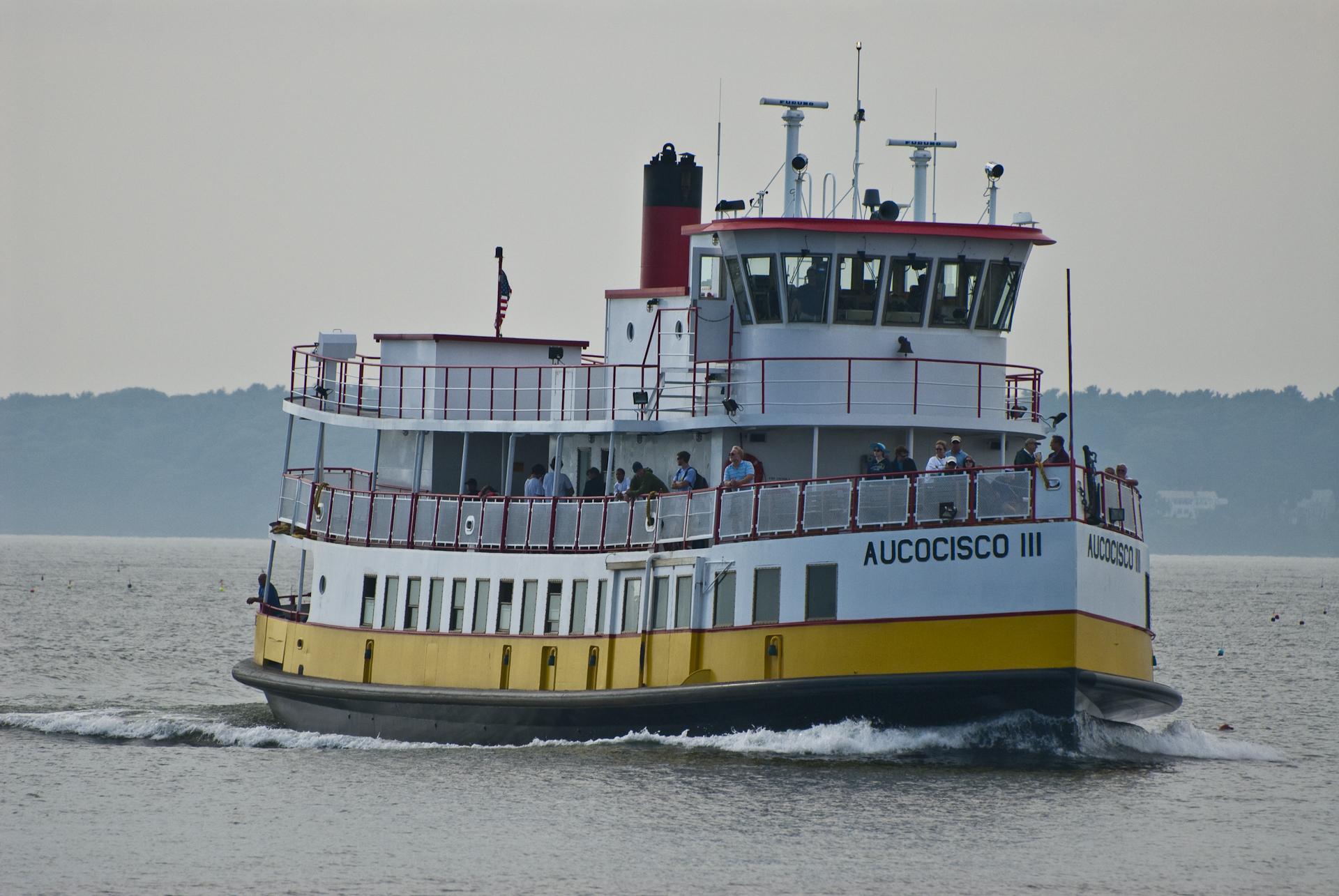 Casco Bay Aucocisco ferry