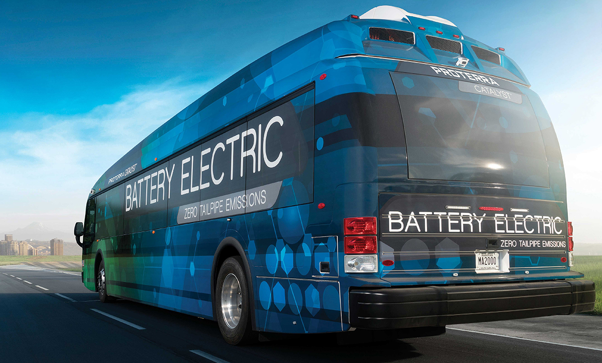 Connect Transit battery electric bus