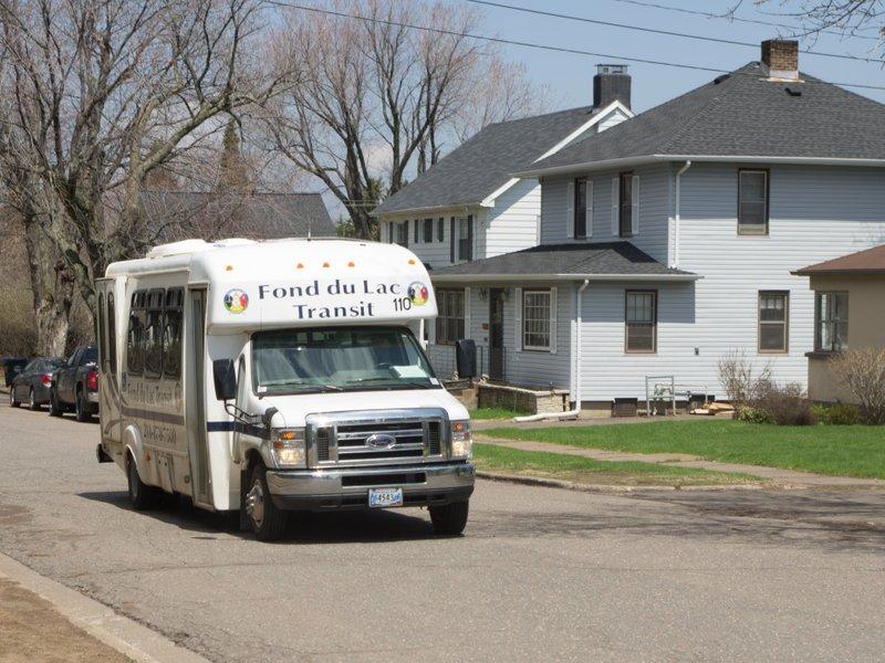 Fond du Lac transit bus