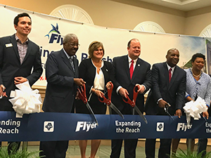 opening ceremony for a new Bus Rapid Transit (BRT) line in Jacksonville, Florida