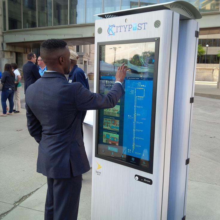 Kansas City smart kiosk