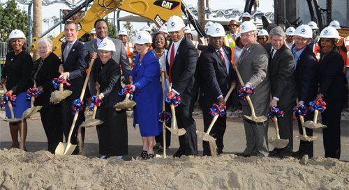 U.S. Department of Transportation Celebrates Groundbreaking of Crenshaw/LAX Light Rail Line to Improve Transit Options in Los An