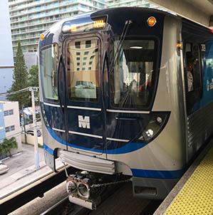 Miami Rail Transit - Photo Credit: Phillip Pessar