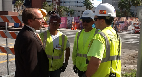 Federal Transit Administrator Rogoff Visits Orlando to Highlight Job-Creating Investments in Public Transportation