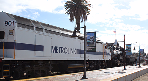 Federal Transit Administration Celebrates Metrolink Commuter Rail Extension to Perris Valley, Expanding Transit Options in South