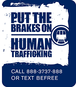 Put the Brakes on Human Trafficking