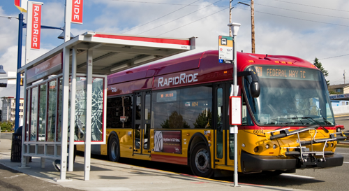 U.S. Transportation Secretary LaHood Awards $37.5 Million To Build Two New Bus Rapid Transit Lines in Seattle Region