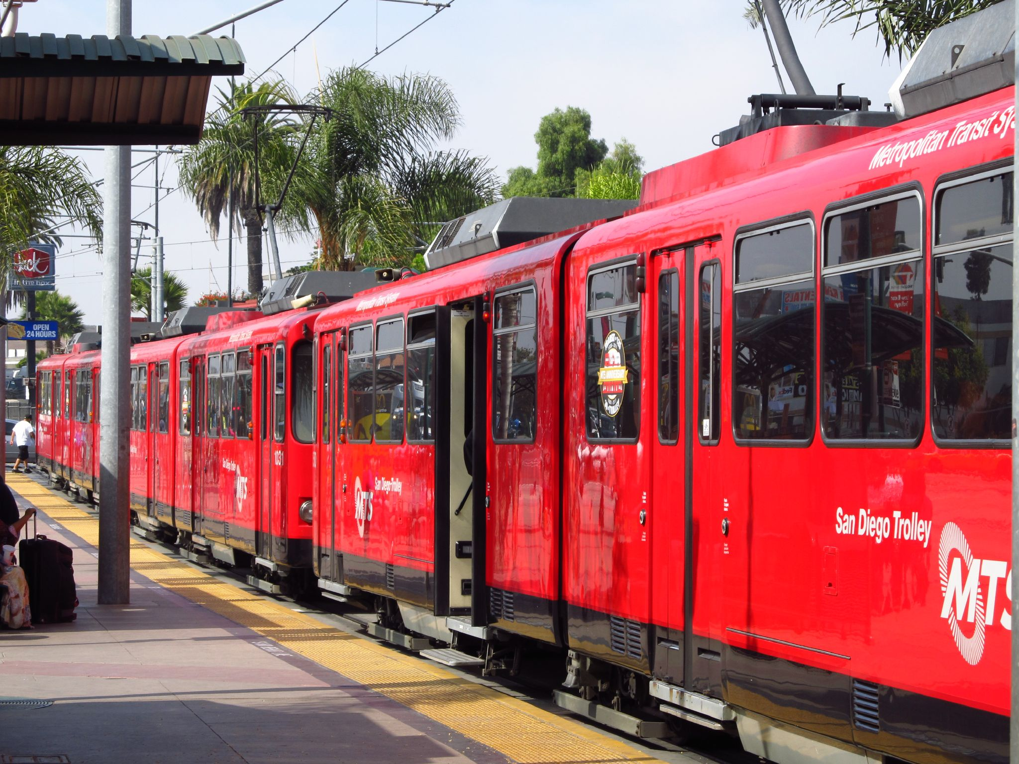 San Diego Blue Line trolley