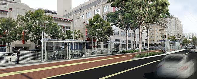 Image of Van Ness BRT Station