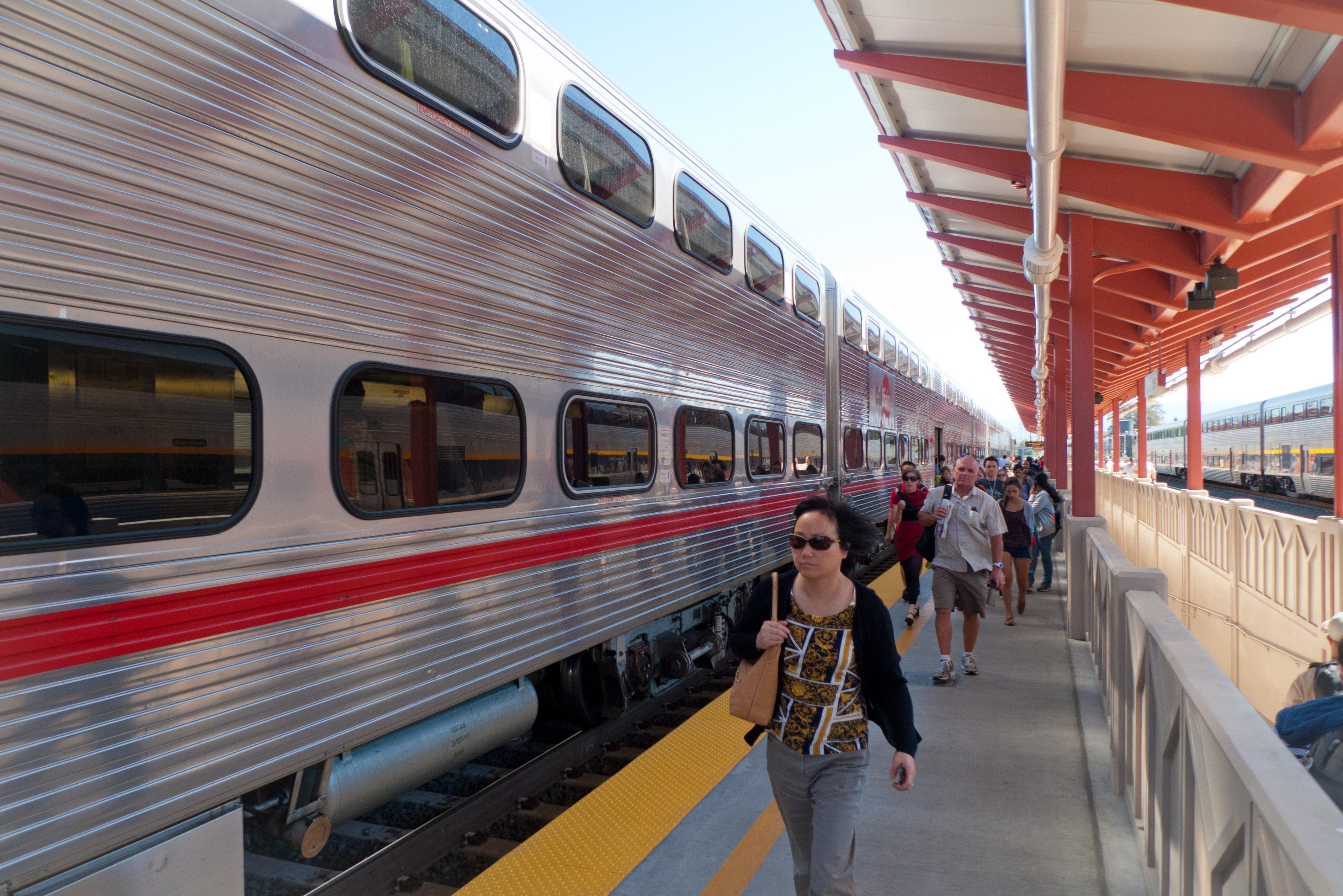 Commuter rail passengers