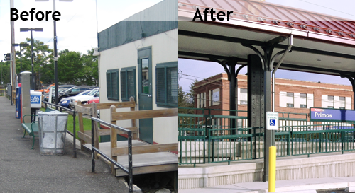 Federal Transit Deputy Administrator McMillan Celebrates Updated, Fully ADA-Compliant Primos Rail Station Near Philadelphia