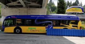 Seattle Metro electric bus