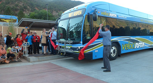 Federal Transit Administration Celebrates Opening of Nation's First Rural Bus Rapid Transit System